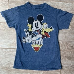 Women's Disney Shirt Mickey Donald Goofy Pluto